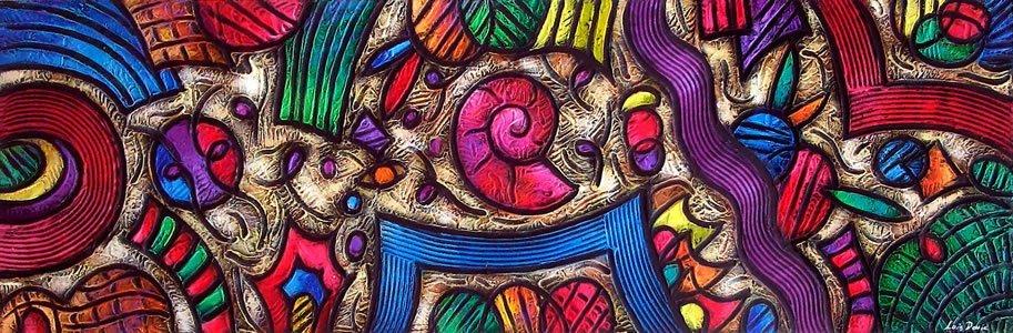 Mixed Media Original on Masonite by David Noguerola