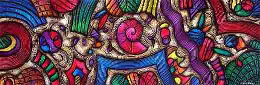 Abstract-Mixed Media Original David Noguerola