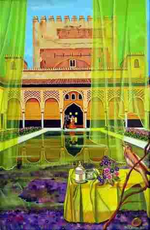 Oil On Canvas Original Surrealist Amayaa