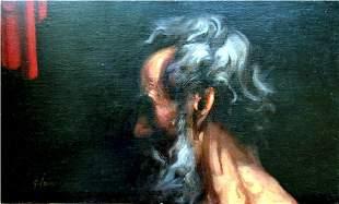 Acrylic on Canvas Original Study Awakening