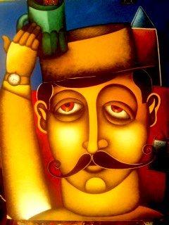 Moustached Monsieur-Original Beltran