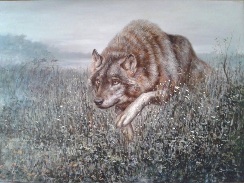 Wolf-Oil Original Nacho Ramirez