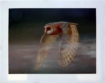 Nigh Sky Guard-Oil on Canvas High End Nacho Ramirez