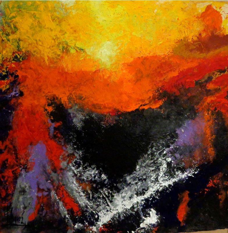 Abstract-Original Acrylic-High End Mexican