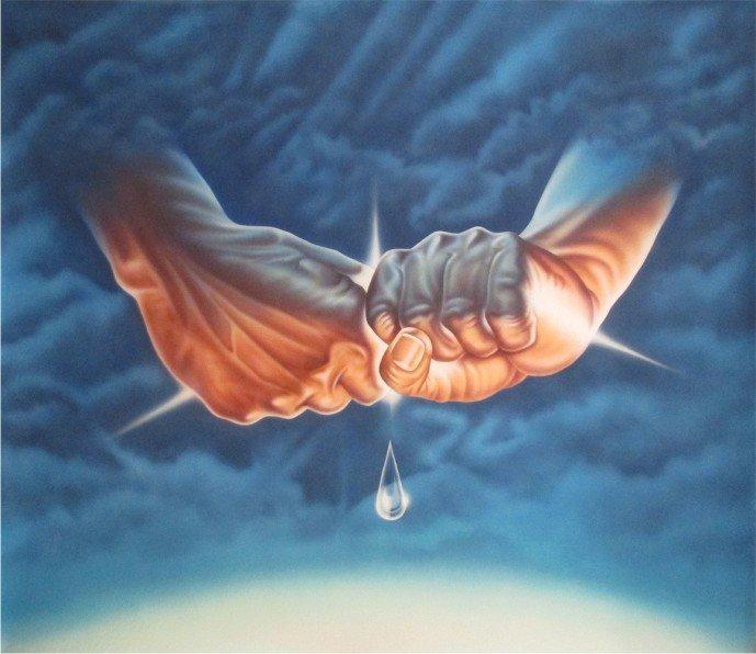 L'Hommage a Norrington-Acrylic on Canvas Original High