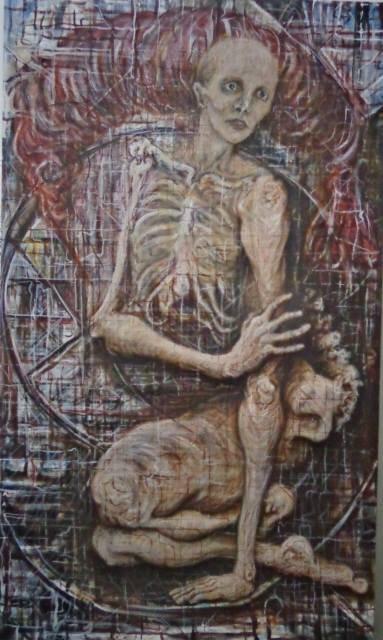 A Shadow of Myself-Original Oil on Canvas-Human Form