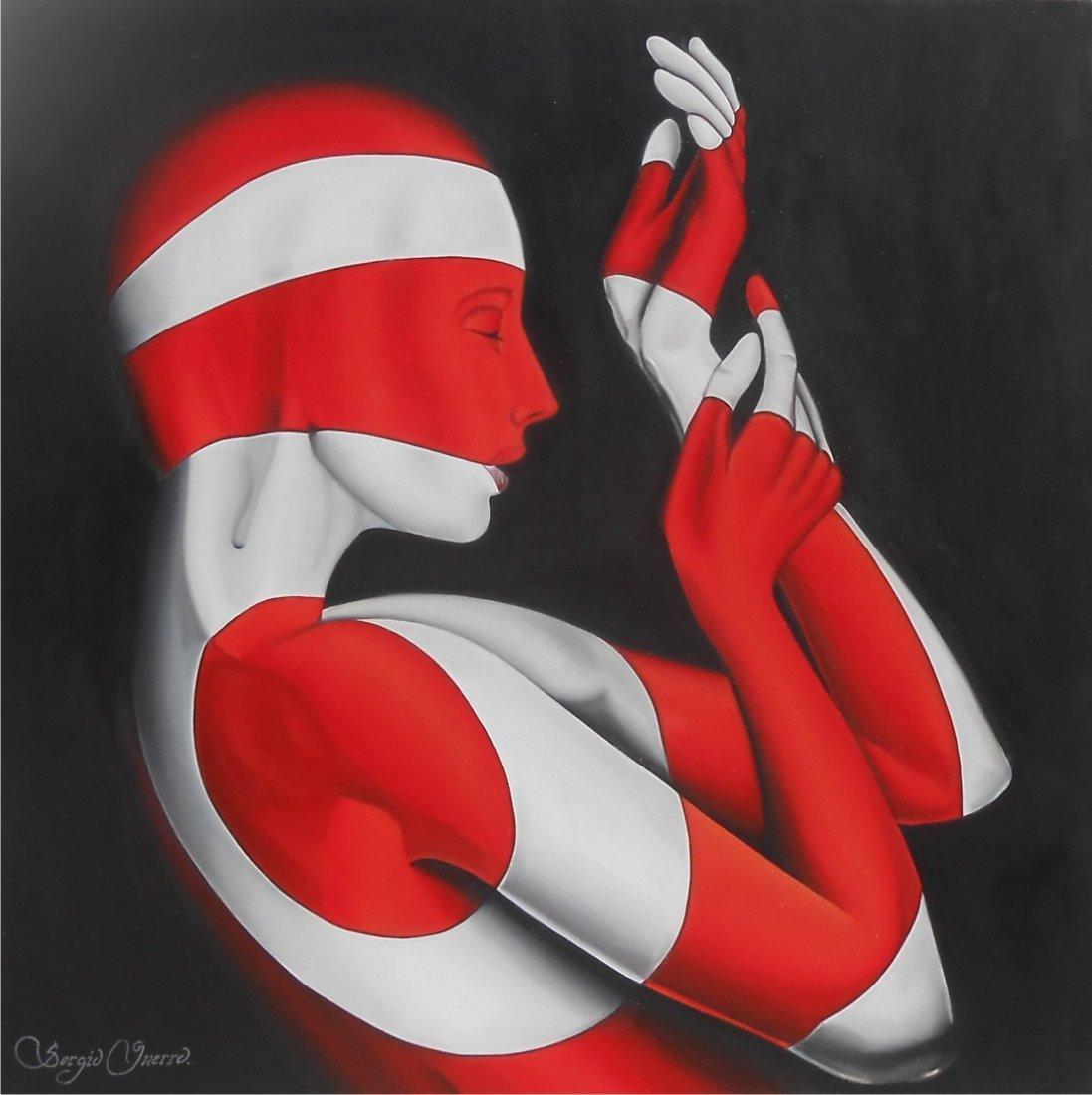 The Body Paint on Canvas Original Sergio Guerrero