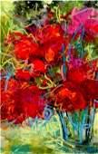 Acrylic & Texture on Canvas- Original Izabela