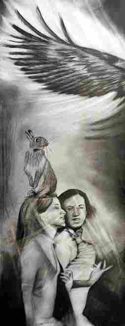 Mixed Media Original- Mexican Surrealist