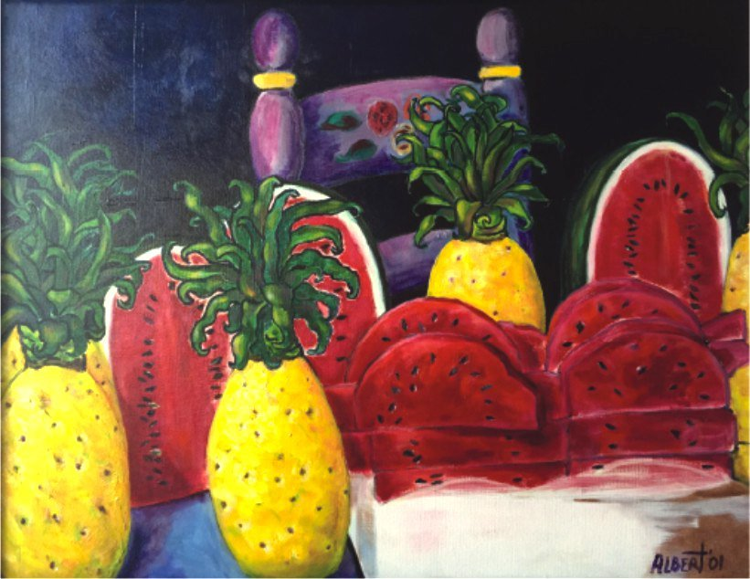 Acrylic on Canvas- John Albert