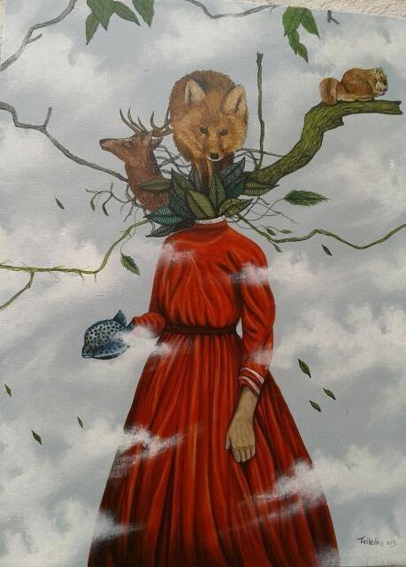 Nature's Dream-Original Acrylic on canvas