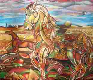 Equestrian Horse- Luis Riera