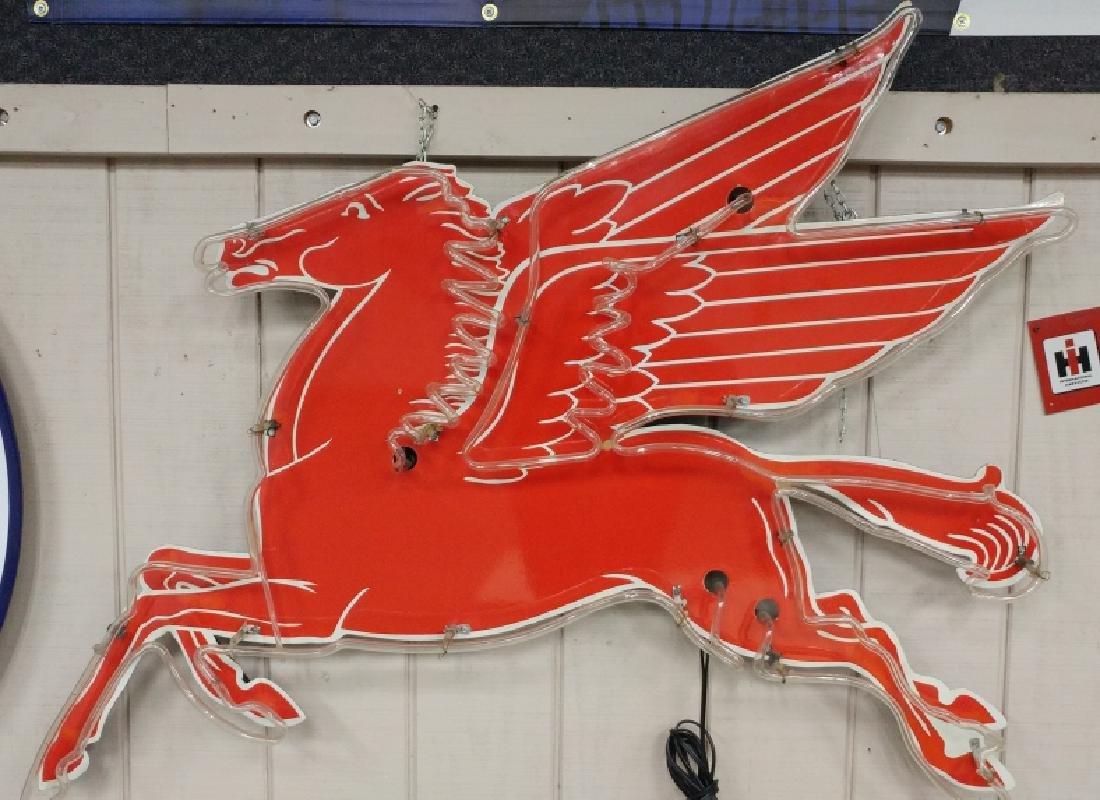 Mobil Pegasus Neon Sign