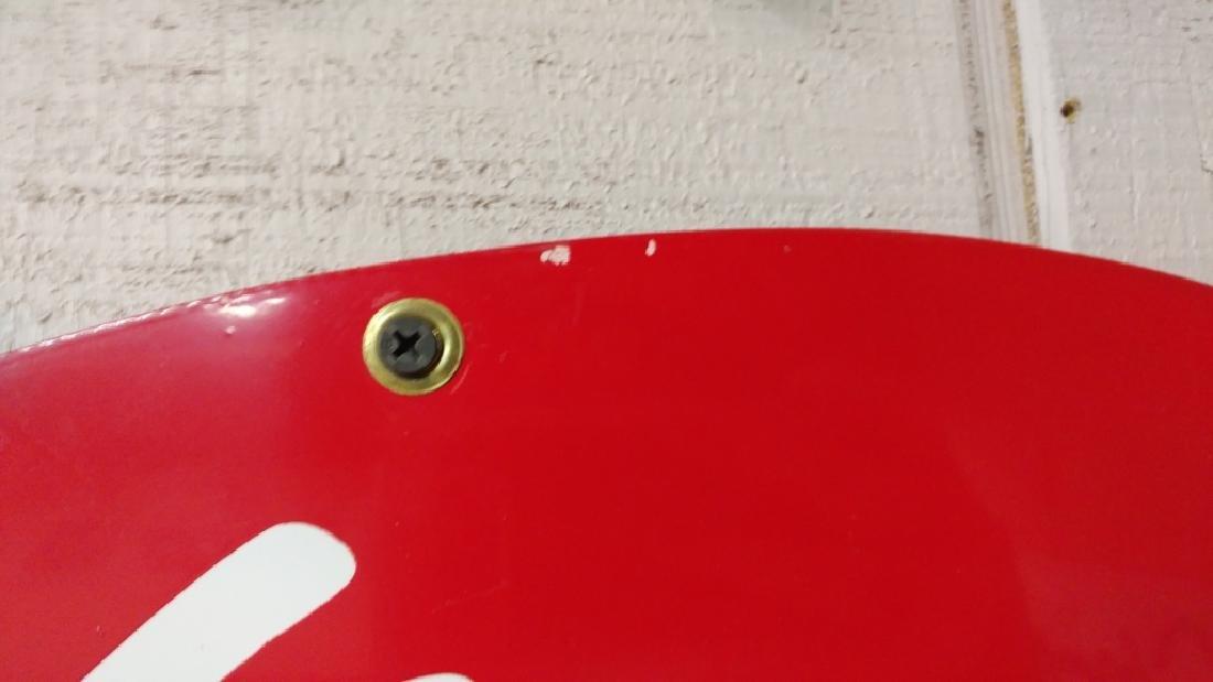 Wolf's Head Motor Oil Tin Sign - 4