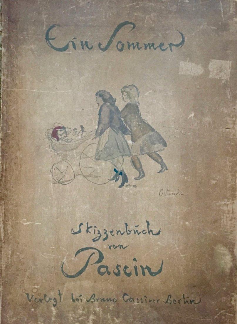 EIN SOMMER, SKIZZENBUCH von PASCIN. 1920