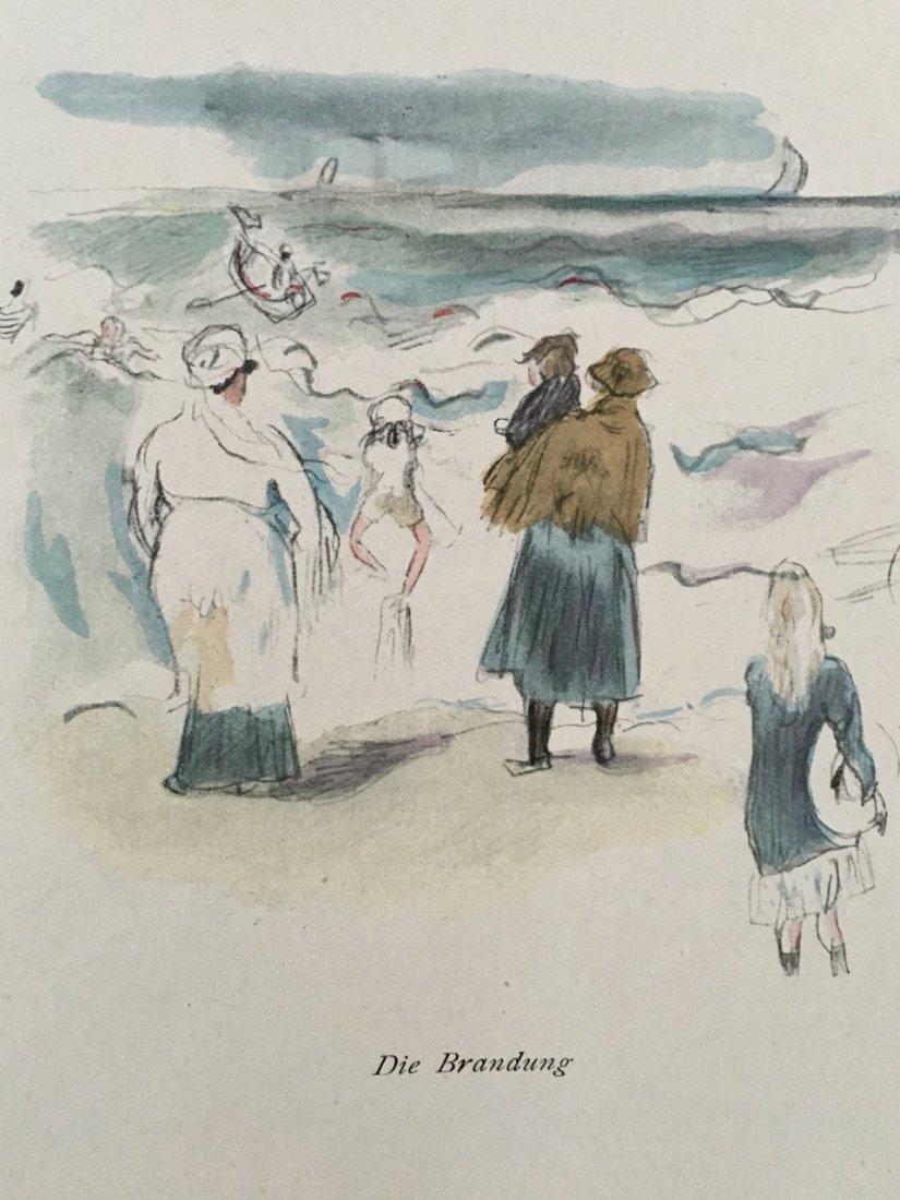 EIN SOMMER, SKIZZENBUCH von PASCIN. 1920 - 3