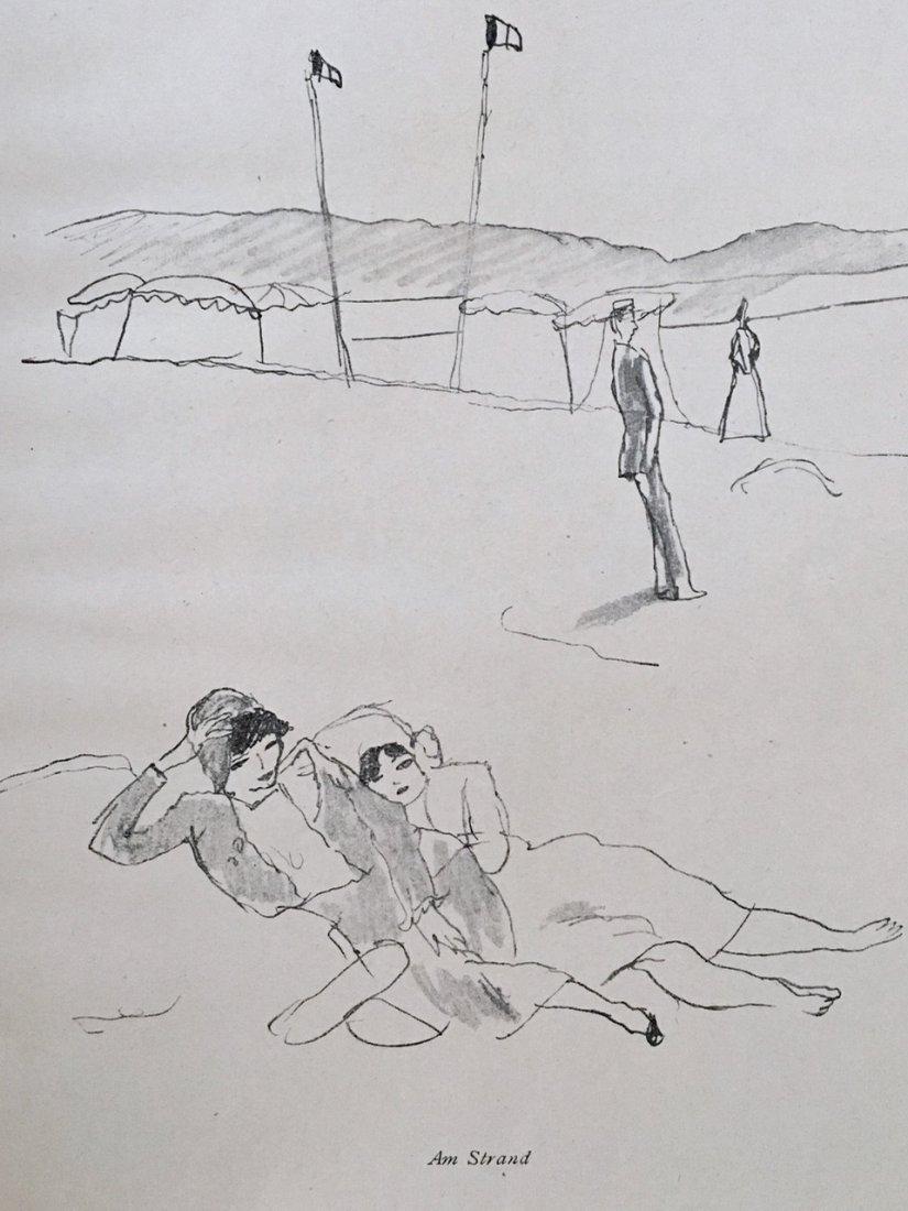 EIN SOMMER, SKIZZENBUCH von PASCIN. 1920 - 4