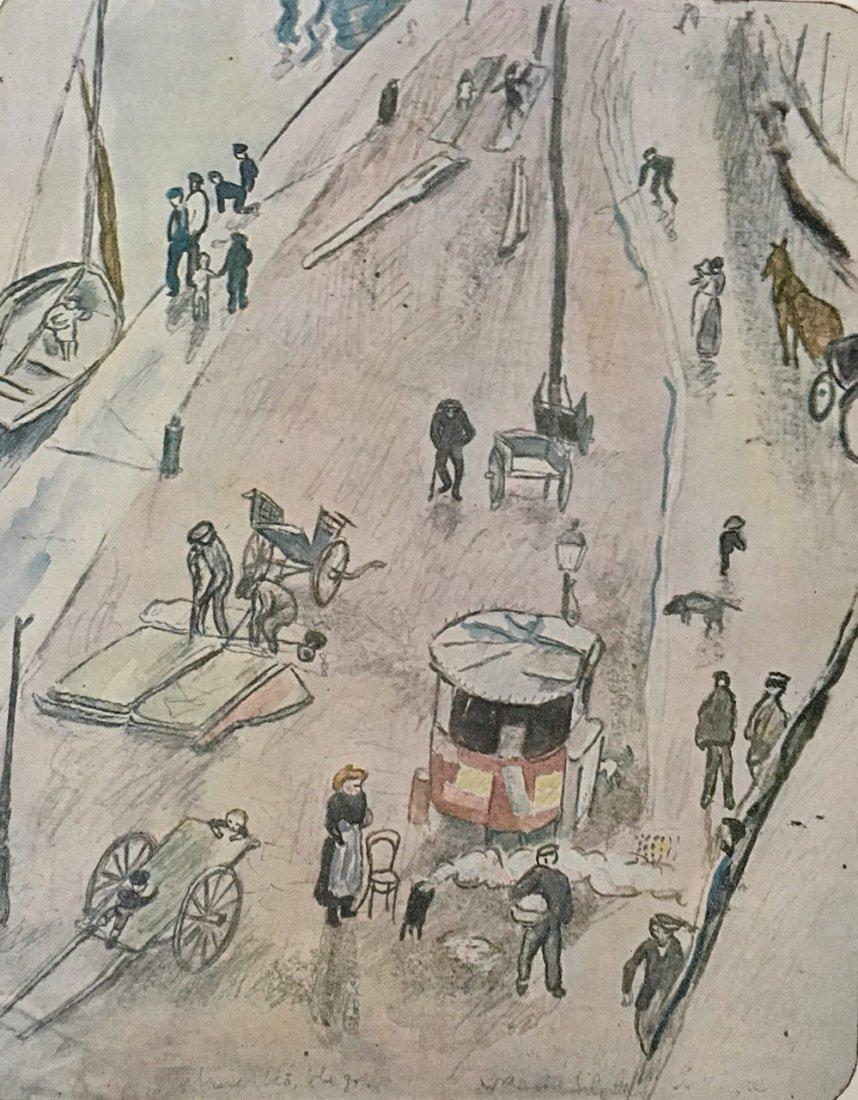 EIN SOMMER, SKIZZENBUCH von PASCIN. 1920 - 5