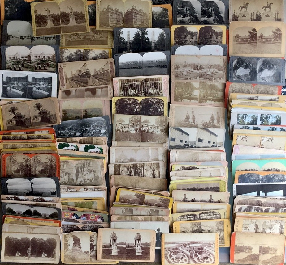 150+ American Stereoview Cards, Cities, Parks, People