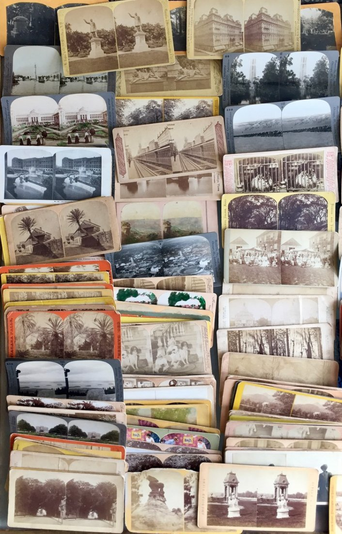 150+ American Stereoview Cards, Cities, Parks, People - 3