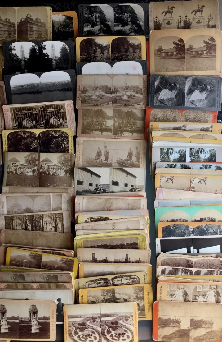 150+ American Stereoview Cards, Cities, Parks, People - 4