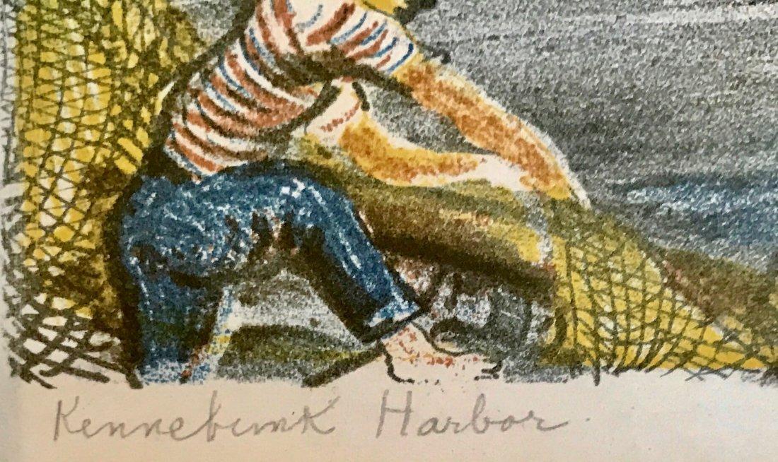 Emil Ganso (American, 1895-1941) Kennebunkport Harbor - 4