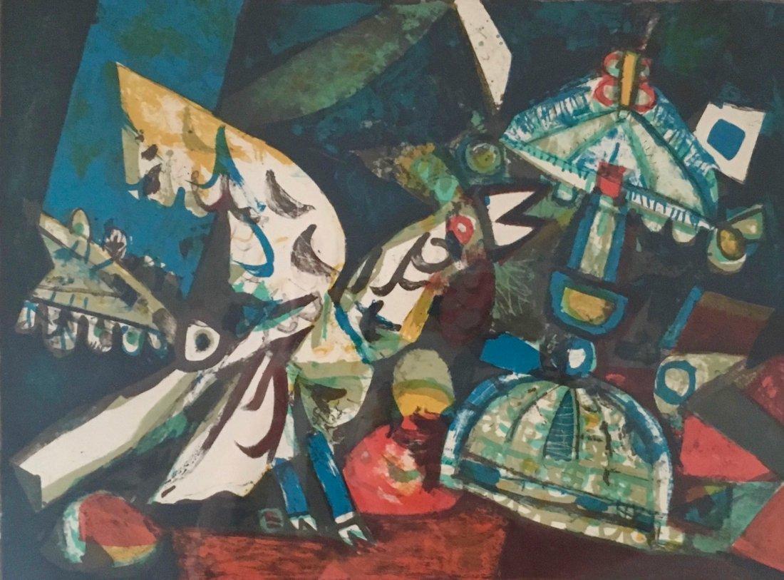 "Augustin Ubeda (Spanish, b.1925-2007) ""Chantecler"" - 3"