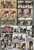 Stereoview Cards:Middle East,Burma,Ceylon,Africa,India
