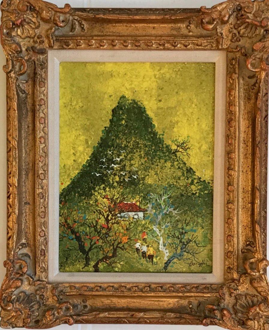 Taiwanese Modernist Oil Painting, Ho Chu