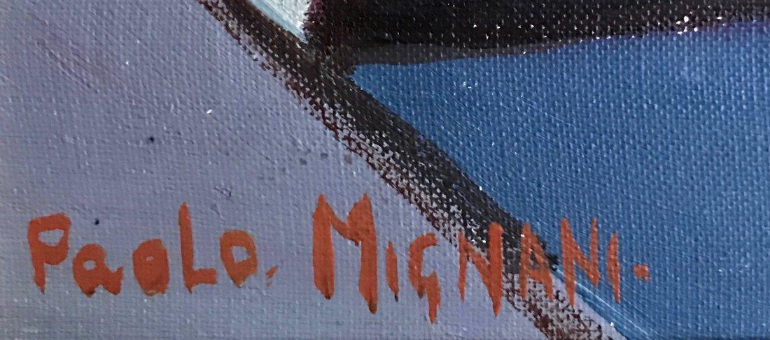 """Industrial Oil Painting, Paola Mignani """"Operosita"""" - 2"""