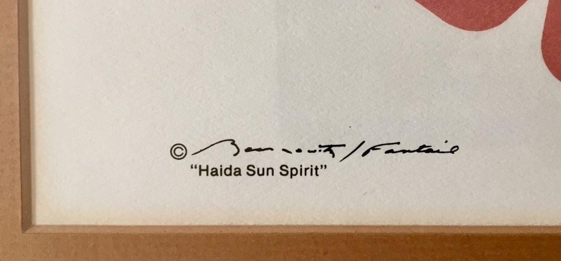 Haida Spirit Serigraph, Pacific Northwest Coast Indian - 2