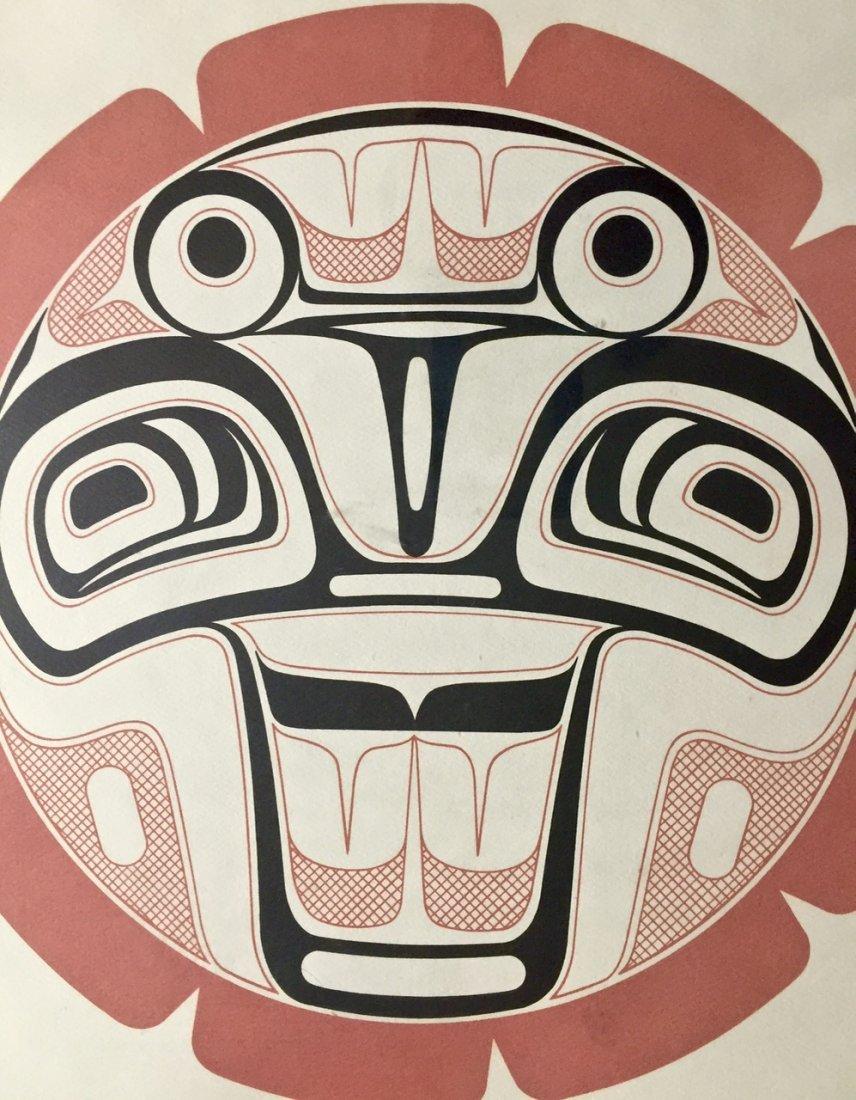 Haida Spirit Serigraph, Pacific Northwest Coast Indian - 4