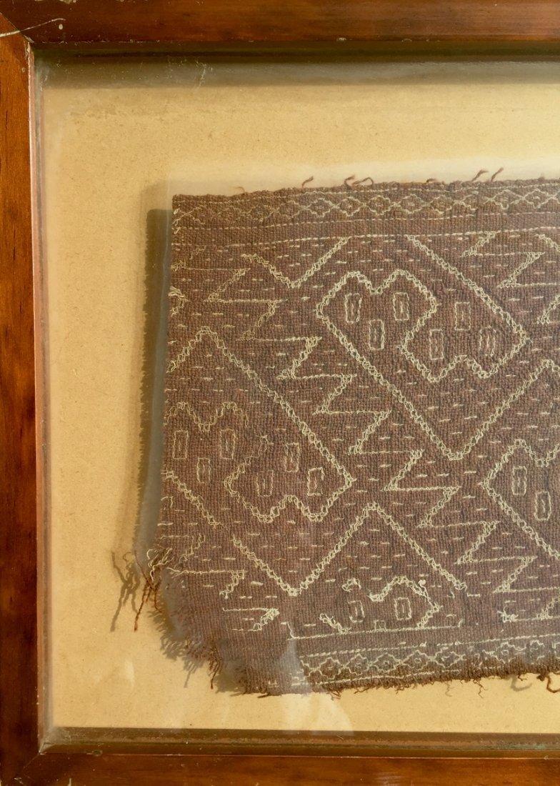 Pre-Columbian Textile Panel Fragment, Peru - 2