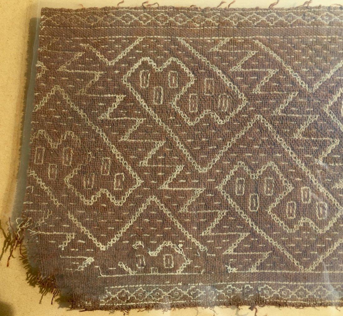 Pre-Columbian Textile Panel Fragment, Peru - 3