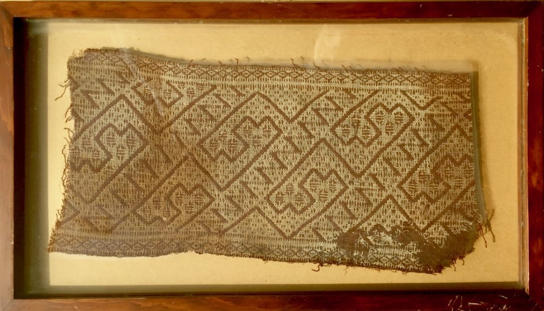 Pre-Columbian Textile Panel Fragment, Peru - 4