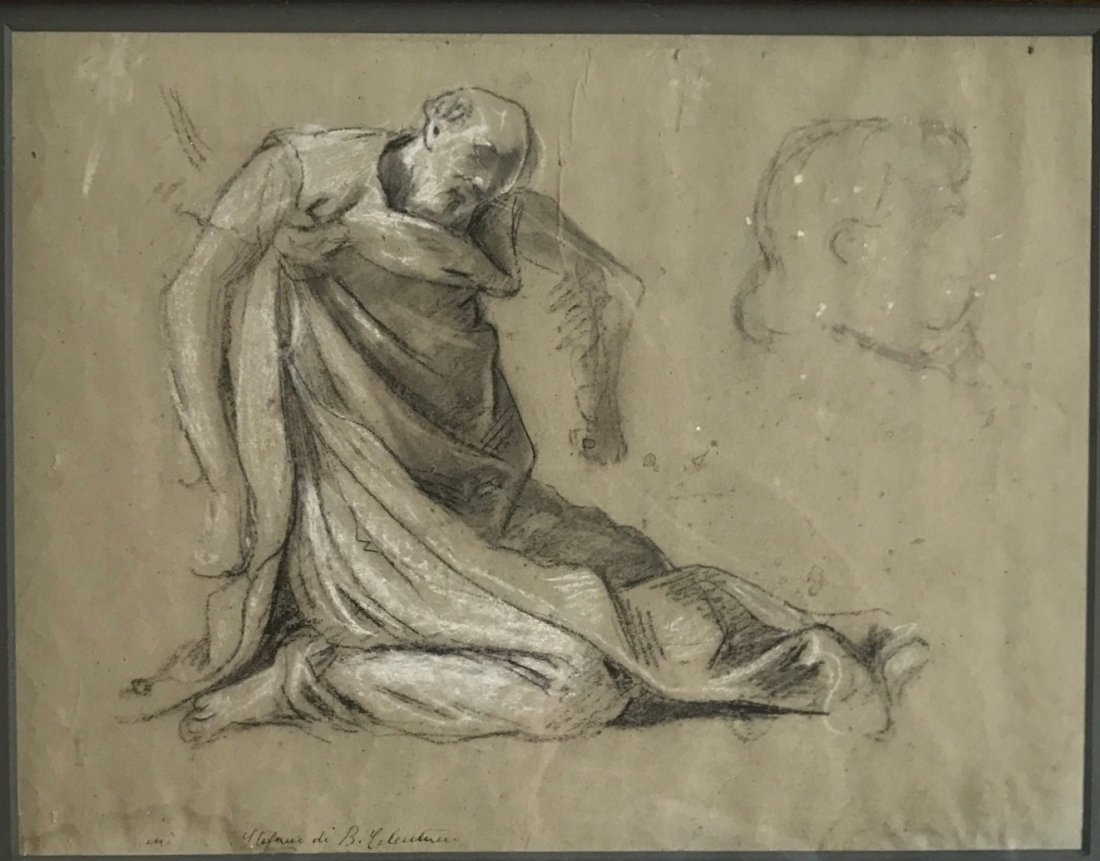 Italian Old Master Drawing, Signed