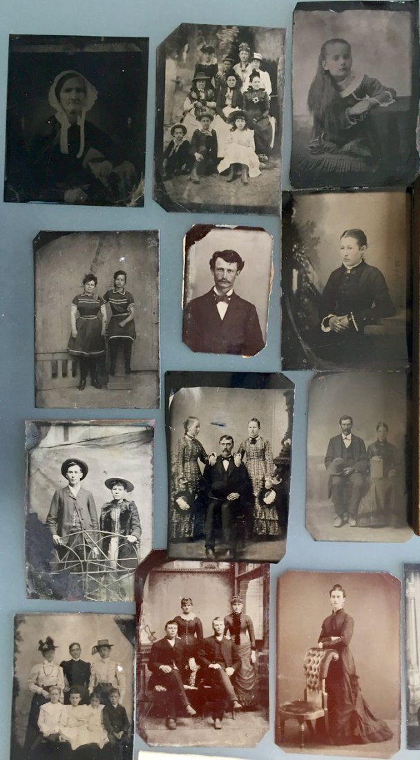 Tintypes & Cabinet Cards, People, Children,Groups, 50+