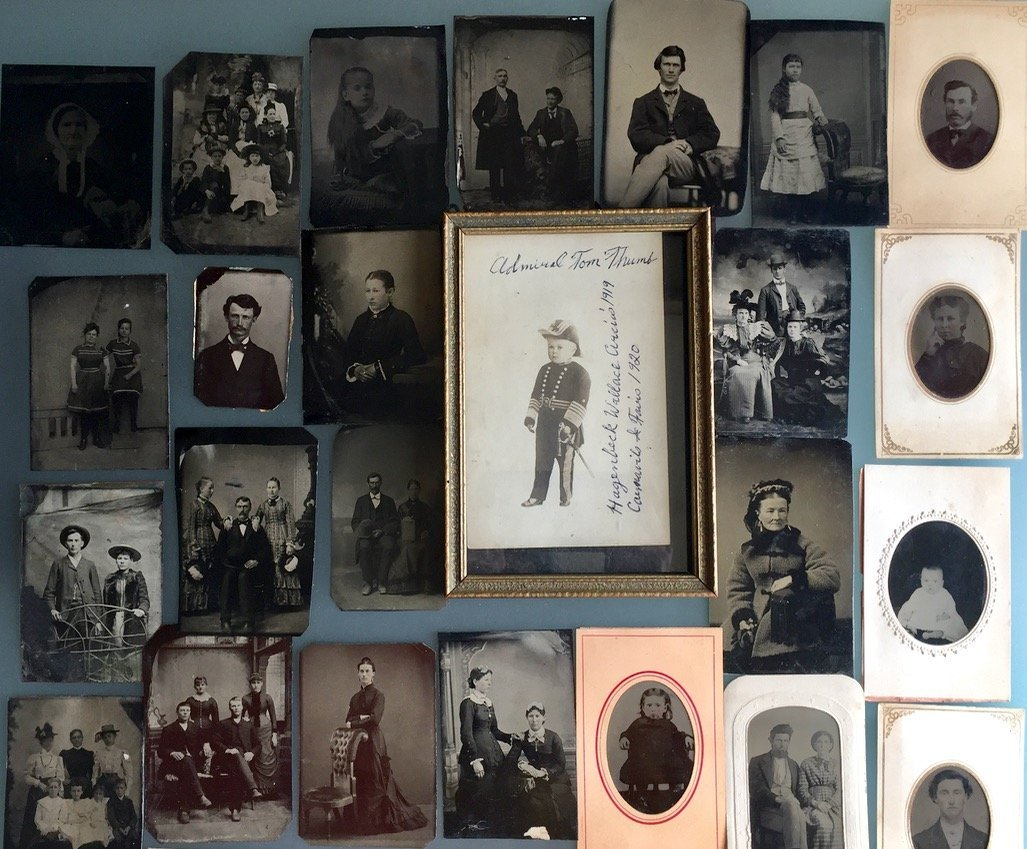 Tintypes & Cabinet Cards, People, Children,Groups, 50+ - 3