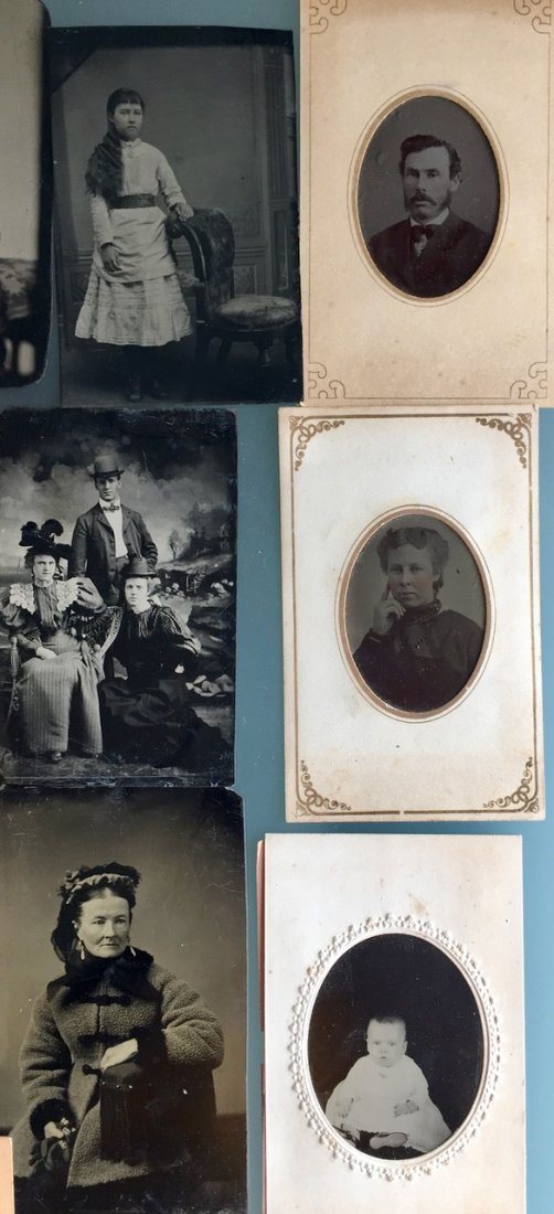 Tintypes & Cabinet Cards, People, Children,Groups, 50+ - 4