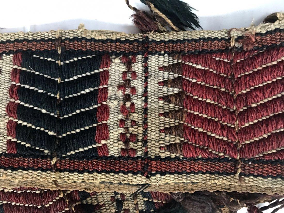 """Ethnic Handwoven Tribal Weaving 7' x 5.60"""" - 2"""