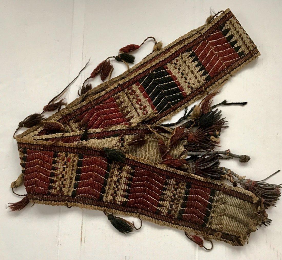"""Ethnic Handwoven Tribal Weaving 7' x 5.60"""" - 3"""