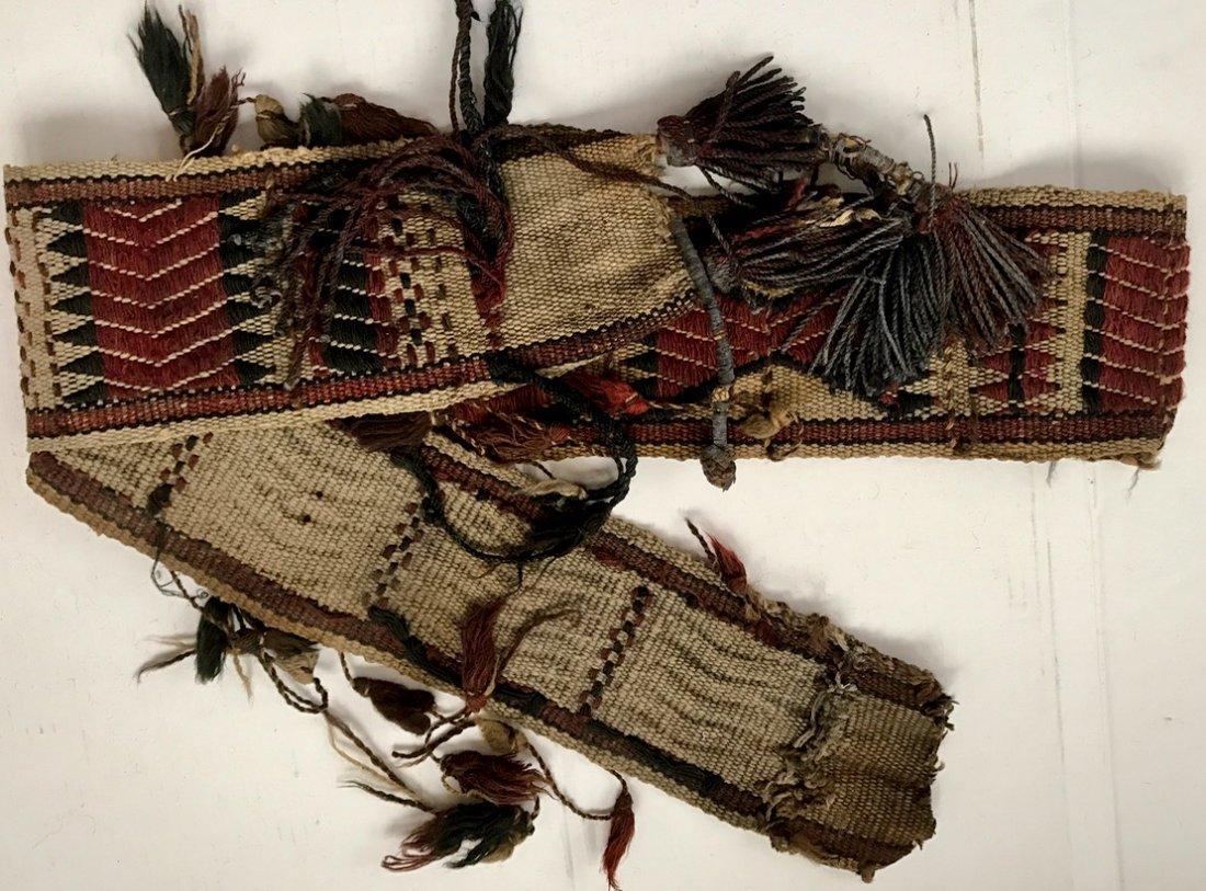 """Ethnic Handwoven Tribal Weaving 7' x 5.60"""" - 4"""