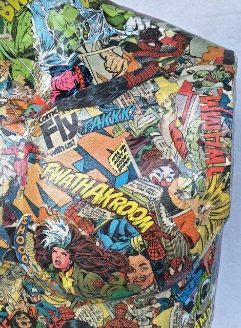 Pop Art Super Hero Collage Sculpture, Sabra - 6