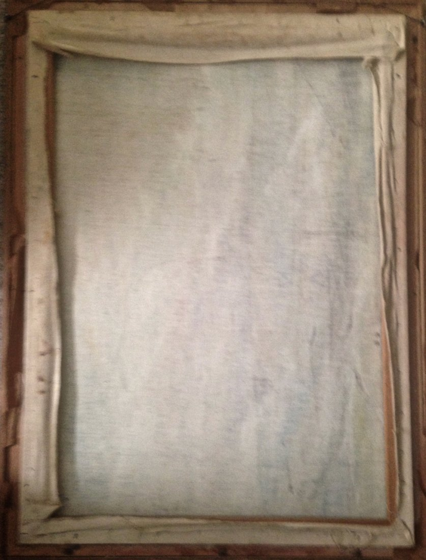Modernist Abstract Expressionist Oil Painting, Signed - 3