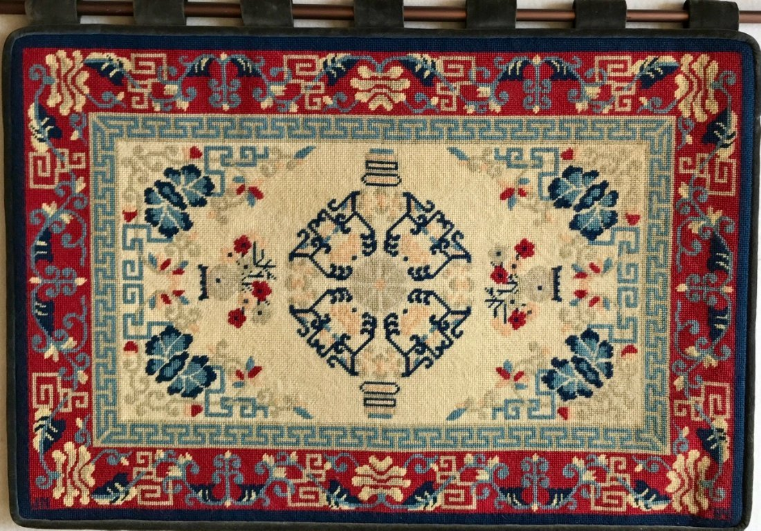 """Handwoven Rug Wall Tapestry, 36"""" x 26"""""""