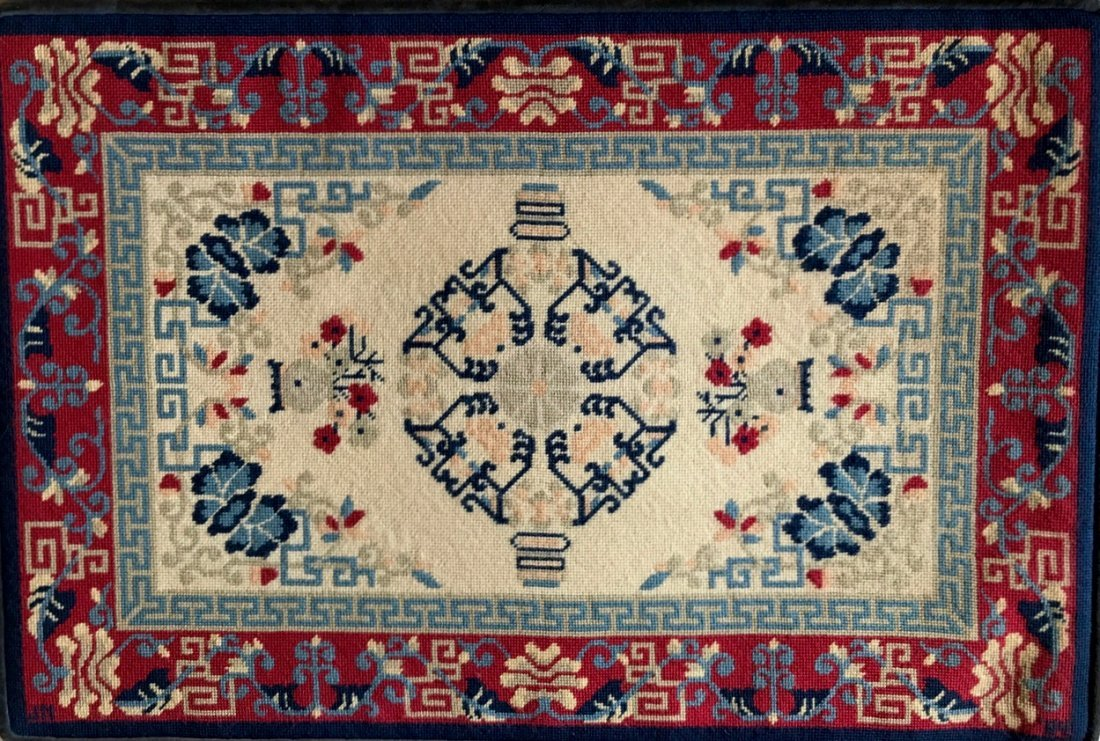 """Handwoven Rug Wall Tapestry, 36"""" x 26"""" - 3"""