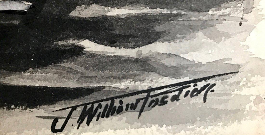 J. William Fosdick, Mural Study Painting - 3