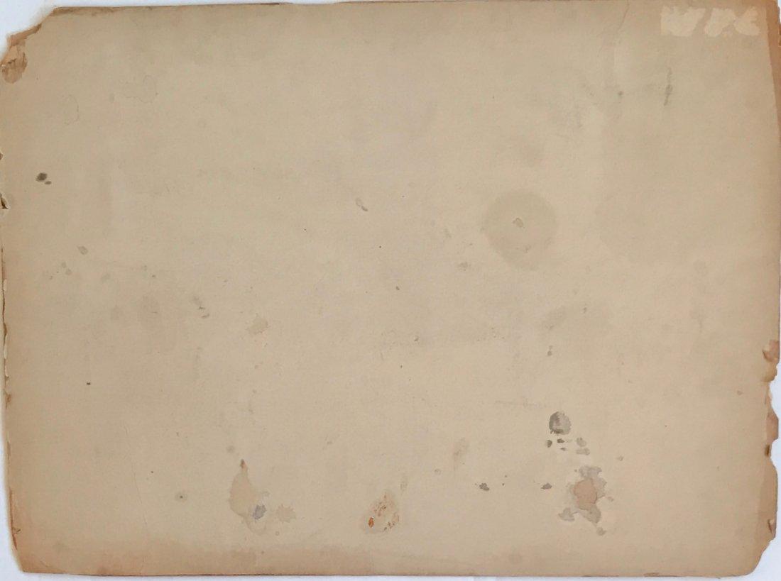 J. William Fosdick, Mural Study Painting - 4