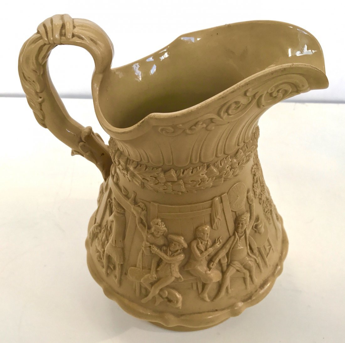 William Ridgway, Tam O'Shanter, Stoneware Pitcher, 1835 - 7