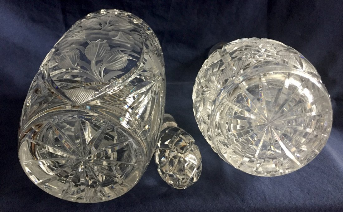 Estate Group of Crystal Items - 4